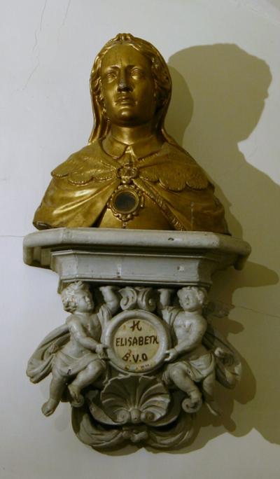 Reliekbuste van de Heilige Elisabeth