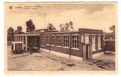 Landen - Gewestelijk Slachthuis. Abattoir régional.