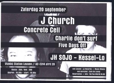 J Church, Concrete Cell e.a.