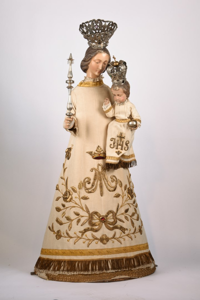 Processiebeeld 'Maria met kind'