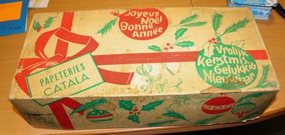 Kerstdoos van de Catalafabriek