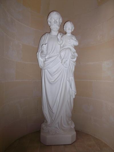 Heilige Jozef met Christusbeeld