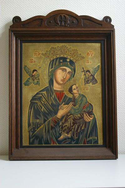 'Onze-Lieve-Vrouw van Altijddurende Bijstand' of 'Moeder Gods van de Passie'