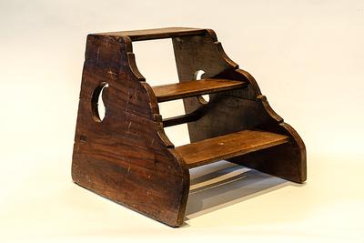 houten opstapje