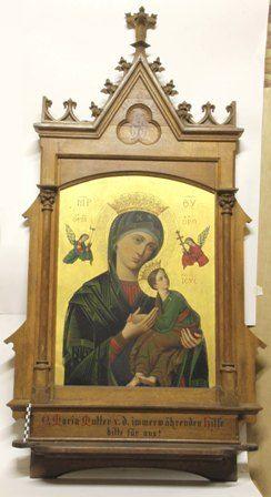 schilderij - icoon, O-L-Vrouw van eeuwigdurende bijstand