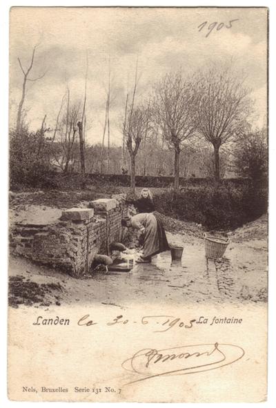 Landen, de Bron - La Fontaine