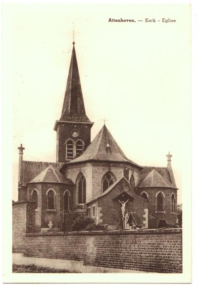 Attenhoven, Kerk - Eglise