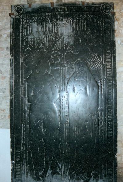 grafsteen Jonker Raes en echtgenote