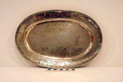 schaal voor ampullen in zilver