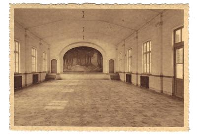 Landen Klooster, Pensionnat - Ecole Normale moyenne Soeurs de Marie - Salle de jeu.