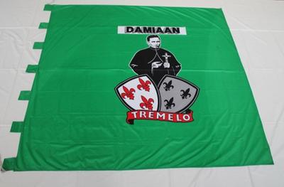 Een vlag voor Damiaan uit Tremelo
