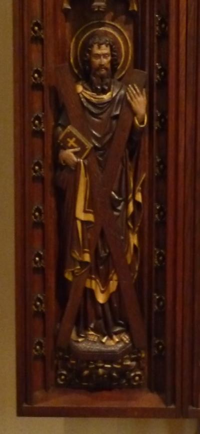 Panelen van het retabel van het Sint Pietersaltaar