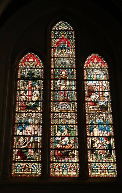 Glasramen Heilige Leonardus