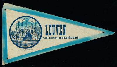 Bedevaartvaantje, O.L.V. van Lourdes, Leuven