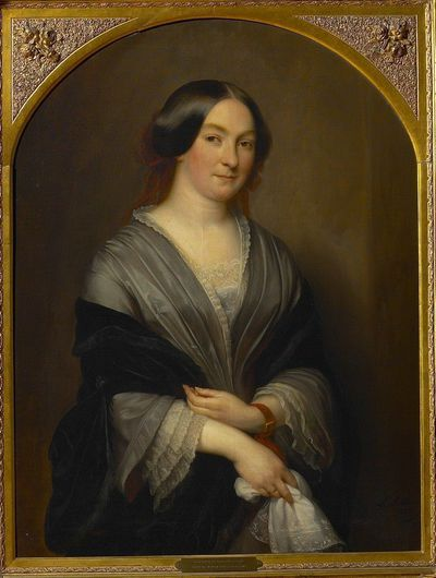 Portret van Marie-Anne Mertens