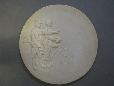 mal voor postzegel n.a.v. herdenking WO I