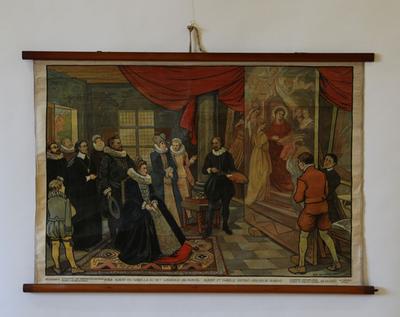 Albert en Isabella in het werkhuis van Rubens