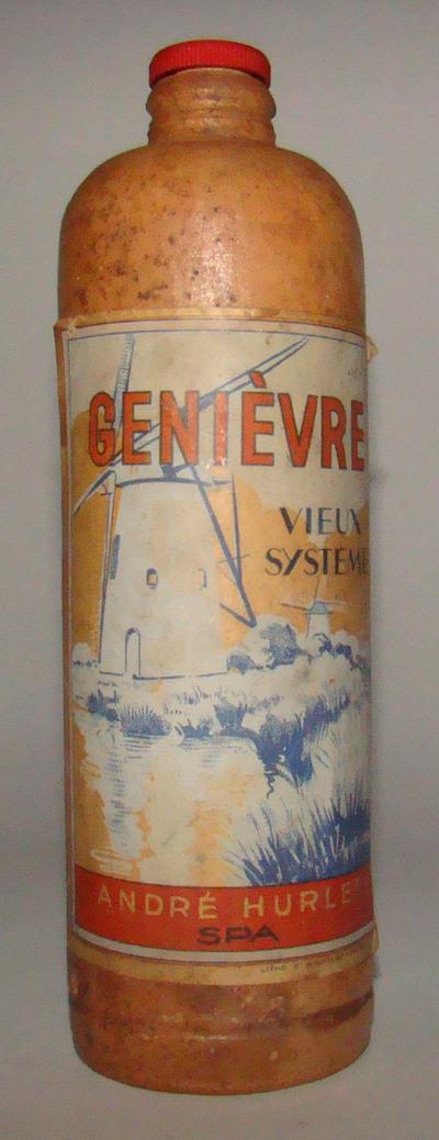 Stoop 'Génièvre Vieux Système' voor André Hurlet, Spa, ca. 1920-1940