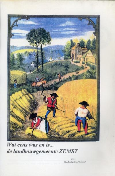 Wat eens was en is… de landbouwgemeente Zemst