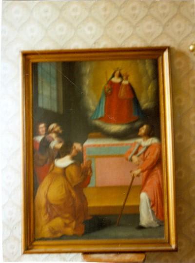 aanbidding H. Maria met kind Jezus