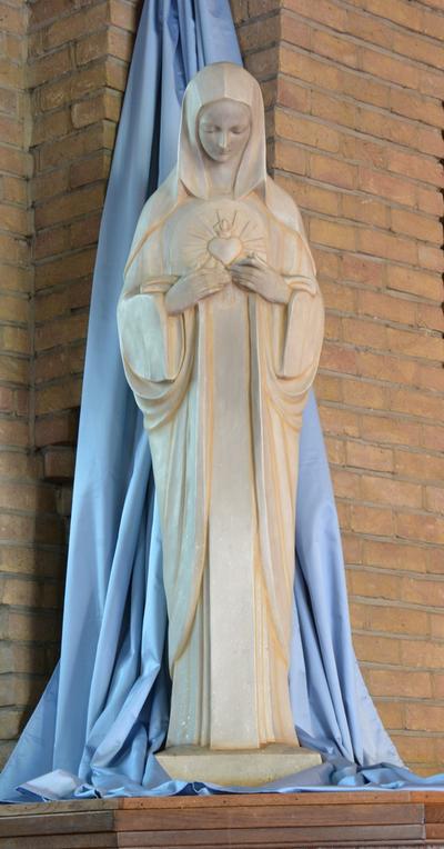Maria met Heilig Hart