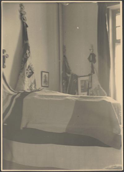 Begrafenis baron de Woot de Trixhe (1939) - rouwkamer.