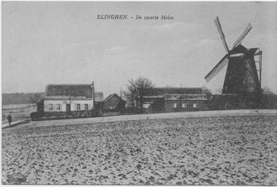 Zwarte molen in Elingen