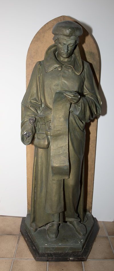 Standbeeld Nicolas Cleynaerts Polyglotte