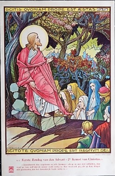 Prent 2: Tweede komst van Christus