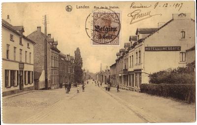 Landen Stationstraat - Rue de la Station
