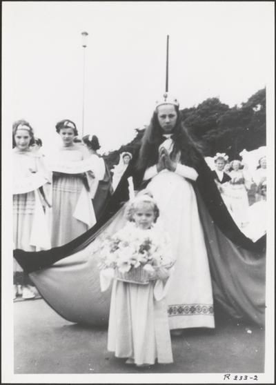 Processie - 'Koningin der Engelen'.