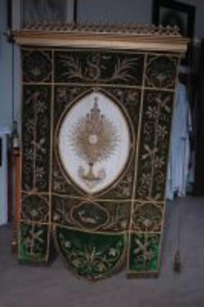 Processievaandel allerhoogste sacrament