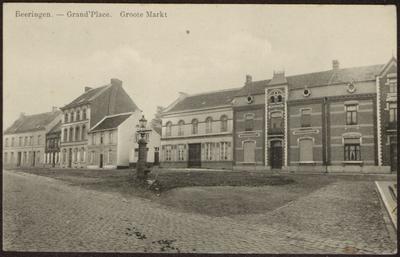 Beeringen. Grand'Place Groote Markt