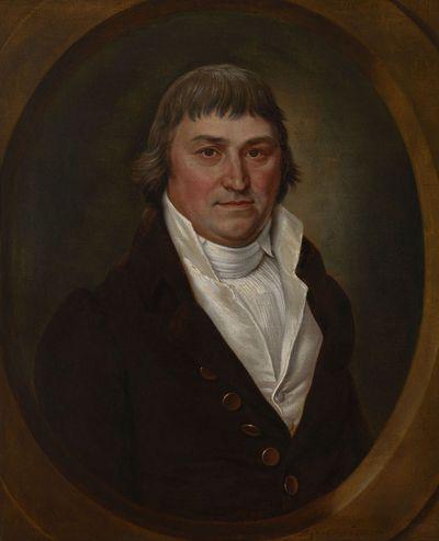Portret van Pierre-François Van Buggenhout