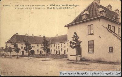 Genck - Koolmijn van den Winterslag Blok van twaalf woningen