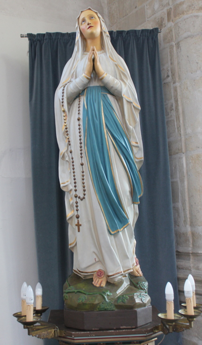 Beeld O.L.Vrouw van Lourdes