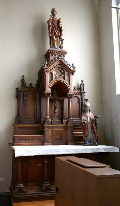 Zijaltaar gewijd aan Sint-Hubertus