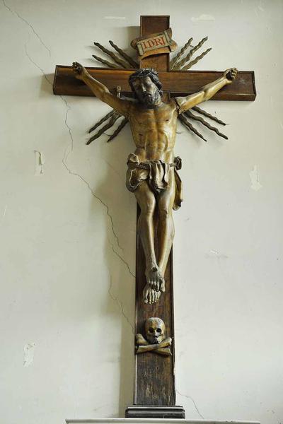 Christusbeeld aan kruis