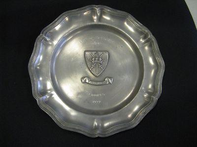 tinnen bord - 'Championnat de Belgique'