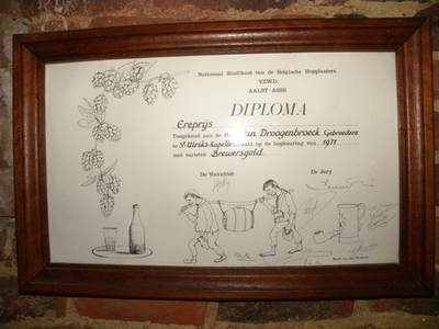 Diploma voor de variëteit: Brewersgold