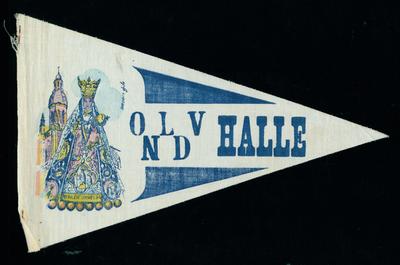Bedevaartvaantje, O.L.V. van Halle, Halle