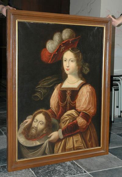 Salomé met het hoofd van Sint Jan de Doper