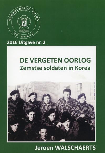 De vergeten oorlog : Zemstse soldaten in Korea