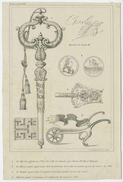 Leuvense kunstschatten met betrekking tot de aanleg van het Kanaal Leuven-Dijle