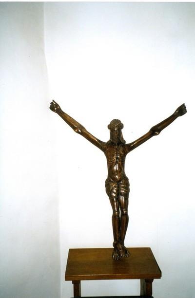 Jezus aan het kruis, zonder kruis