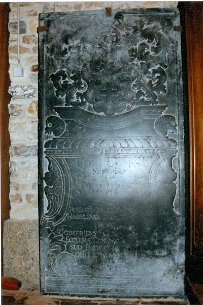 grafsteen P en G. Cox