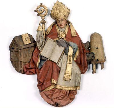 De heilige Ambrosius van het triomfkruis in de Sint-Pieterskerk