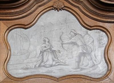 De marteldood van de heilige Ursula van Keulen