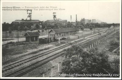 Zwartberg-Mijnen - Panoramisch zicht der Mijnen
