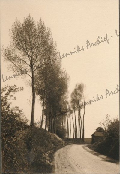 Landschap, tussen Groot-Bijgaarden en St-Ulriks-Kapelle